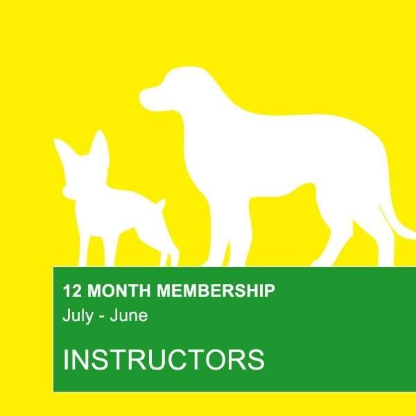 manly dog club instructor membership