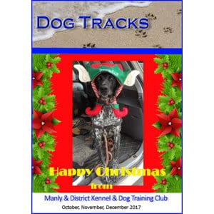 manly dog club newsletter december 2017