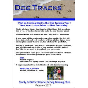 manly dog club newsletter february2018