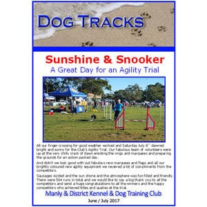 manly dog club newsletter july2017